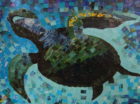 sea turtle table ls 7 best images about turtles on paper collages