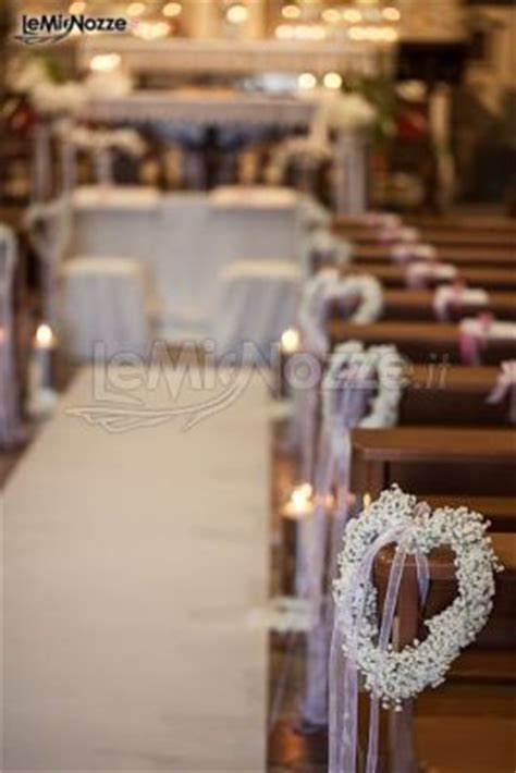 Idee Per Un Matrimonio Semplice by Foto 243 Addobbi Floreali Chiesa E Cerimonia Romantico