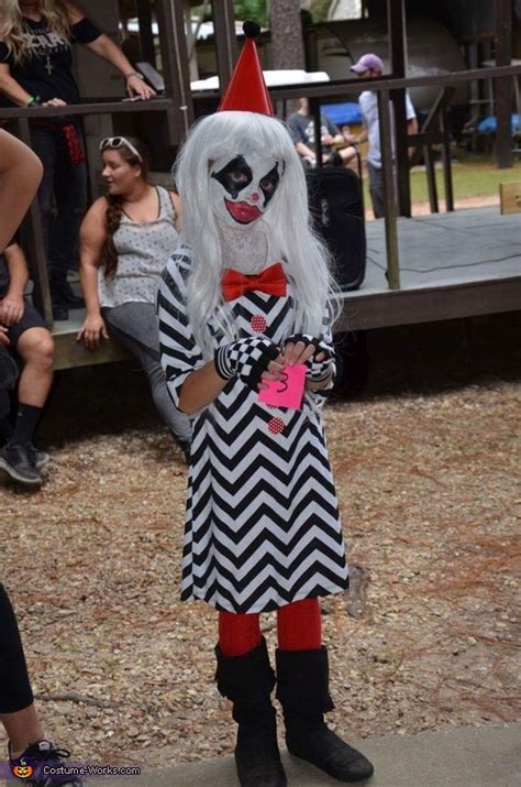 sad clown costume