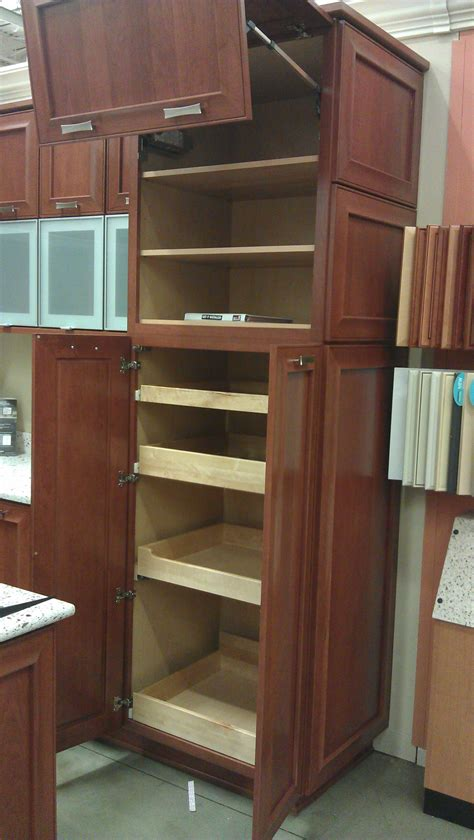 kitchen cabinets pull out shelves new house