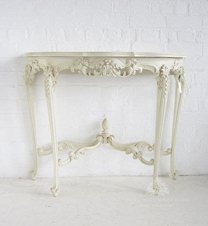 white ornate console table 72 best images about hall and console tables on pinterest