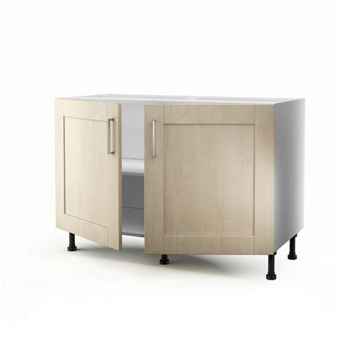meuble sous evier cuisine leroy merlin meuble de cuisine sous 233 vier blanc 2 portes ines h 70 x l