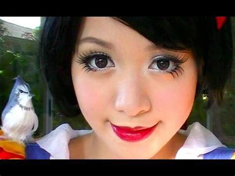 makeup tutorial youtube michelle phan snow white by michelle phan everything chibi