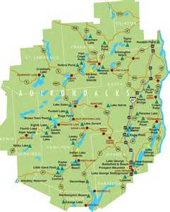Adirondack State Park Map by Adirondack Park Campground Map Nys Dept Of