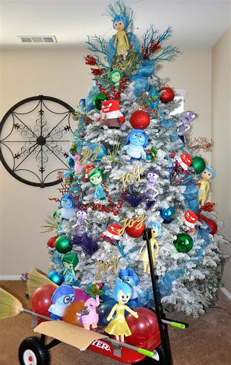 inside out disney themed christmas tree pretty my party