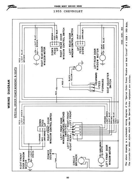 1957 chevy power window wiring diagram new wiring