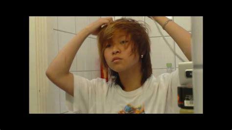Natural asian tomboy haircut   YouTube