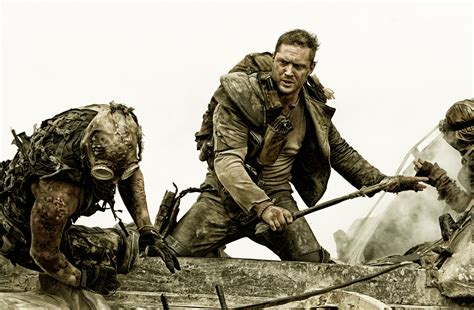 tom hardy gives mad max mad max fury road tom hardy and charlize theron talk production characters collider