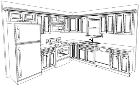 14 X 14 Kitchen Floor Plans 10 X 10 Kitchen Layout Are Included In The Standard 10 X