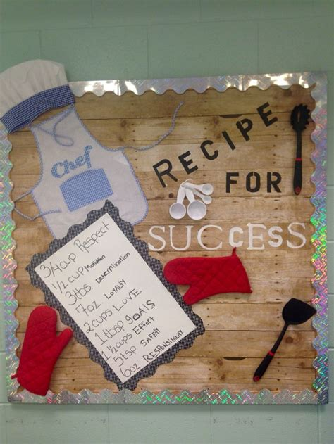 kitchen bulletin board ideas 25 best ideas about recipe for success on