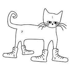 pete the cat coloring page shoes top 20 free printable pete the cat coloring pages online