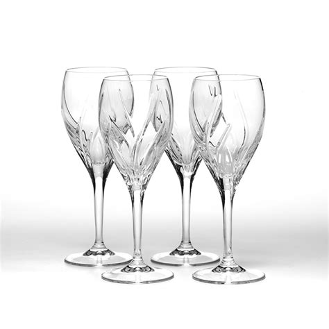 mikasa barware mikasa wine glasses in admiral agena arctic lights