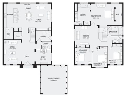 house plans melbourne newhaven 36 new home floor plans interactive house plans metricon homes