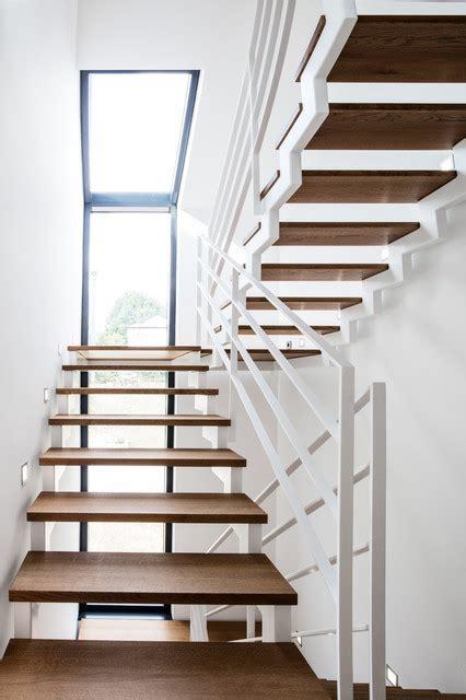 Treppenhaus Einfamilienhaus Offen by Einfamilienhaus Zi12 Modern Treppenhaus Stuttgart
