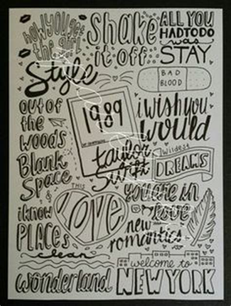doodle de do lyrics tour page scrapbooking