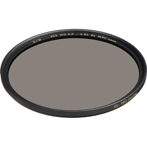 B W 46mm 0 9 Nd Mrc 103m Filter b w 46mm xs pro mrc nano 803 solid neutral density 0 9 1089174