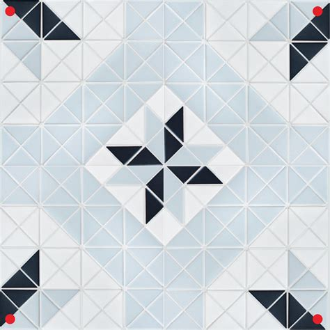 pattern tiles for sale blue mountain twist blossom 2 triangle geometric tiles