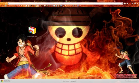 theme google chrome one piece new world fire one piece with luffy chrome theme themebeta
