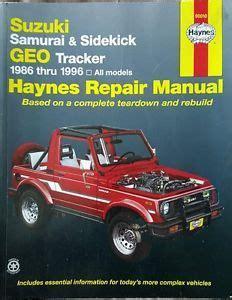 auto manual repair 1993 suzuki samurai electronic toll collection lucas oil off road expo calmini geo tracker suzuki sidekick axle conversion read more http
