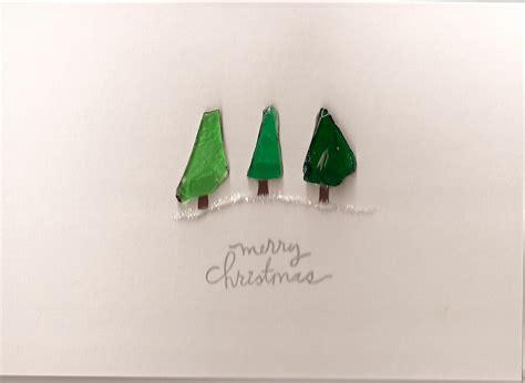 sea glass christmas tree trio flickr photo sharing