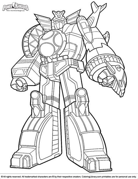 power ranger coloring pages coloring home