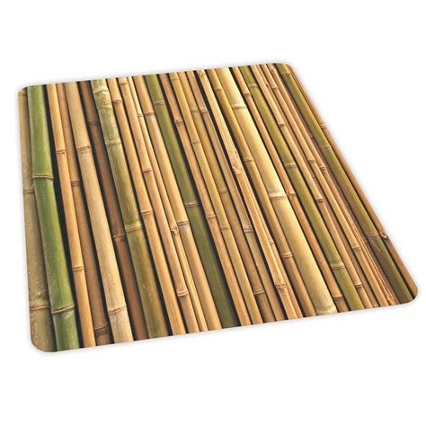 Bamboo Chair Mats by Es Robbins Design Bamboo Print 36 In X 48 In Hardfloor Vinyl Chair Mat 118595 The Home Depot