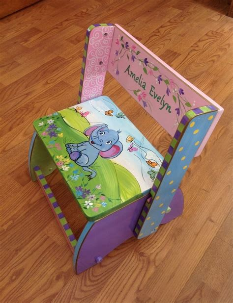 Painted Childrens Step Stools by Buy A Made Custom Personalized Painted Step