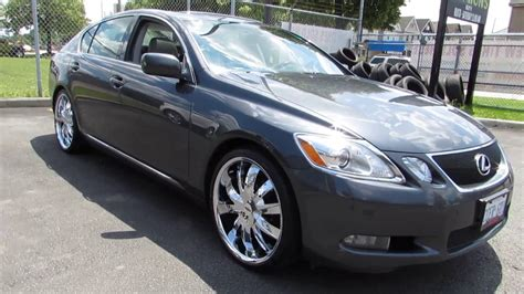 custom 2006 lexus gs300 2006 lexus gs 300 with 20 inch custom chrome rims tires