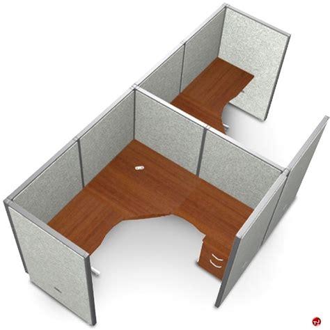 Cubical Desk by The Office Leader 2 Person L Shape Office Desk Cubicle