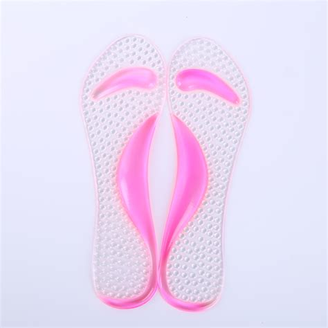 high heel cushions silicone gel shoes pads soft sandals insole high heel arch