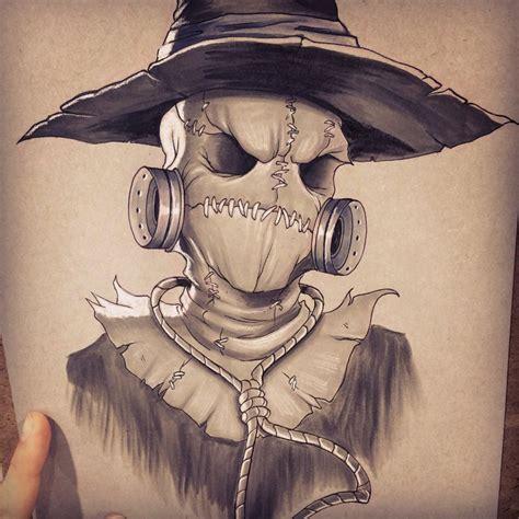 scarecrow by chrissiezullo on deviantart