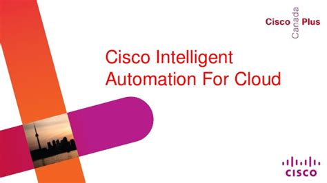 presentation cisco intelligent automation for cloud