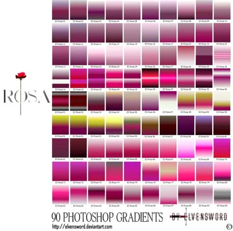 1000 free photoshop gradients for designers