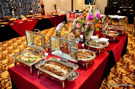 buffet at new buffet spread at re plenish in hotel re