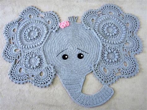 elephant rug nursery elephant rug crochet elephant crochet elephant rug nursery
