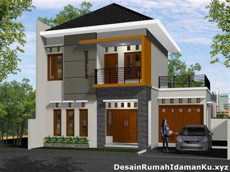 rumah bertingkat dua minimalis desain rumah minimalis gambar foto wallpaper