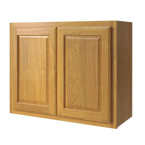 Kitchen Wall Cabinet Doors Shop Kitchen Classics 30 In W X 24 In H X 12 In D Finished Portland Oak Door Kitchen Wall