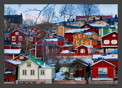 Spanish Houses Old Porvoo Ii A Photo From Southern Finland South