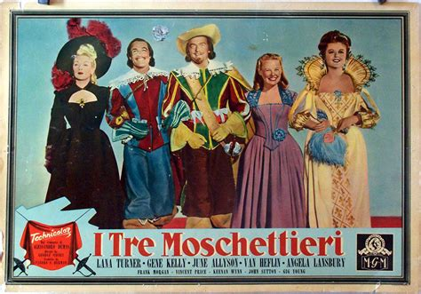 lade i tre quot i tre moschettieri quot poster quot the three musketeers