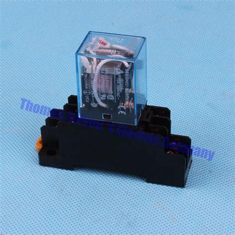 Relay 8 Pin 10a Dc 24v Sakaguchi Mk2p I dmwd coil power relay dpdt ly2nj jqx 13f 10a with socket base ac 110v dc 24v 8 pin relay