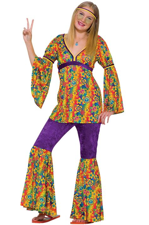 purple haze hippie teen costume purecostumescom