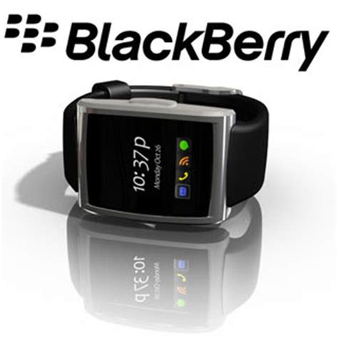 Smartwatch Blackberry blackberry inpulse now available for pre order techgadgets