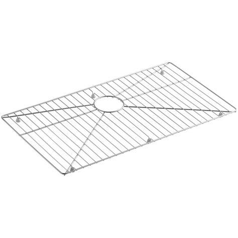 kohler alcott sink rack kohler kitchen sink bottom grid