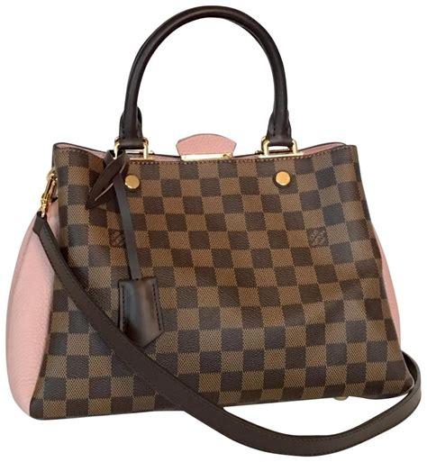 Louis Vuitton Naviglio Damier Ebene Look A Like Premium Quality louis vuitton like new damier ebene magnolia canvas satchel tradesy