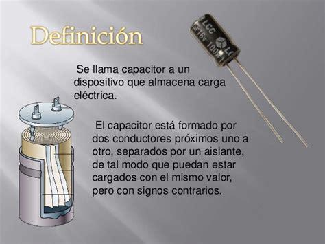 que es un capacitor en fisica el capacitor fisica 1