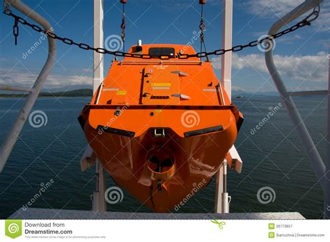 free fall boats free fall life boat stock image image of dangerous free