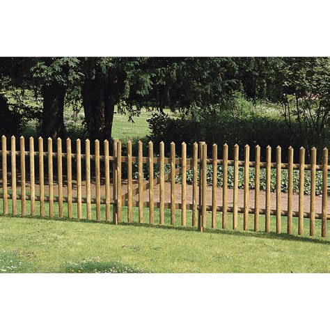 barrieres jardin barri 232 re bois buffalo bois h 100 x l 180 cm leroy merlin
