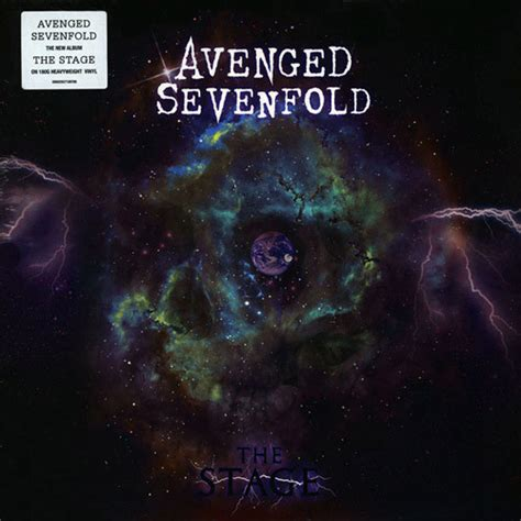 Avenged Sevenfold The Stage avenged sevenfold the stage 2lp mr vinyl