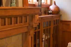 Quarter Sawn Oak Kitchen Cabinets mullet cabinet craftsman mantel and library shelves