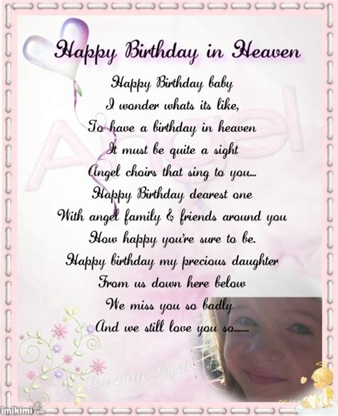 Happy Birthday Quotes For Someone In Heaven Happy Birthday In Heaven Celebrating Birthday In Heaven
